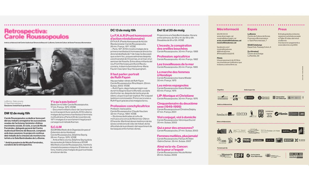 Marta Vergonyós Cabratosa: artista visual, cineasta i activista cultural.